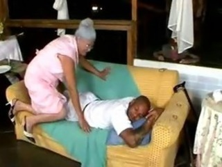 Interracial Old And Young Sleeping