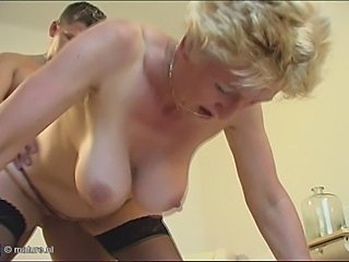 Big Tits Blonde Doggystyle Hardcore Mom Natural Old And Young Stockings