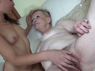 Hairy Lesbian Old And Young