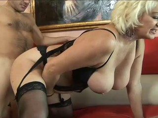 Big Tits Doggystyle Mature Natural Stockings