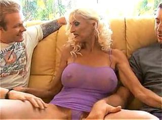 Big Tits Mom Nipples Old And Young Threesome