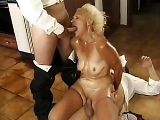 Blowjob Hardcore Old And Young  Threesome