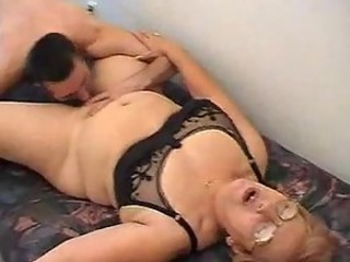 Glasses Licking Lingerie Old And Young