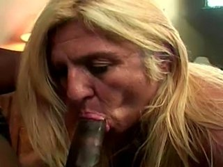 Big Cock Blonde Blowjob Interracial