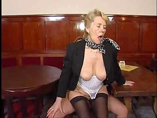 Old And Young Riding  Secretary Stockings