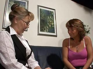 Amateur European German Glasses Lesbian