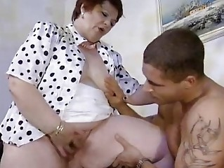 European German Mature Old And Young