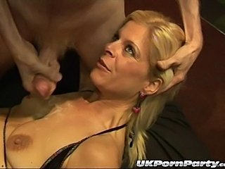 British Cumshot European Gangbang Mature Party