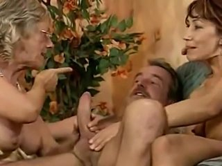Big Cock Blowjob Threesome Vintage