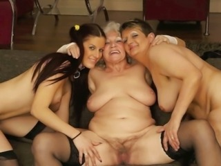 Chubby Family Hairy Lesbian Old And Young