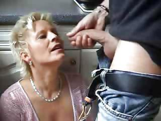 Blowjob German Mature Mom