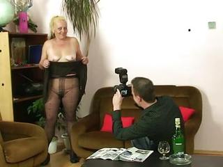 Casting Drunk Mom Old And Young Pantyhose Stripper