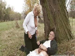 Blonde Outdoor Public