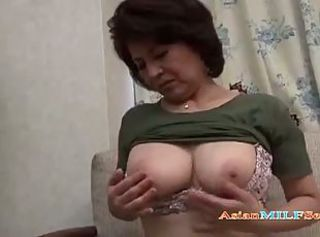 Big Tits Brunette Mature Mom