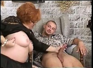Big Cock Chubby Glasses Handjob Mom Old And Young
