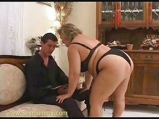 Ass  Lingerie Mom Old And Young Panty