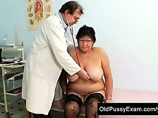 Big Tits Doctor Glasses Natural Older