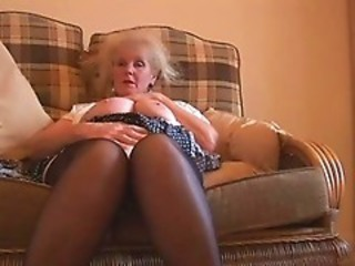 Amateur Homemade Masturbating Stockings Stripper
