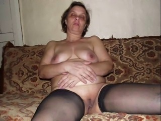 Amateur Chubby Homemade  Shaved Stockings