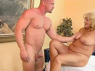 Blonde Chubby European German Mom Natural Old And Young
