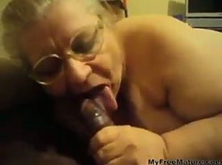 Amateur  Blowjob Glasses Homemade Interracial