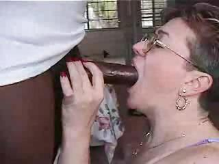 Amateur Big Cock Blowjob Cuckold Glasses Homemade Interracial Wife