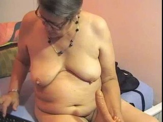 Chubby Dildo Glasses  Solo Toy Webcam