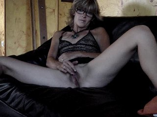 Glasses Masturbating Solo Webcam