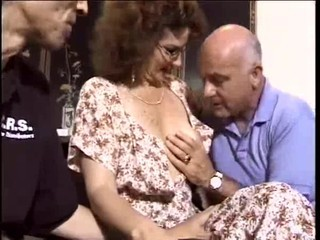 Glasses Pornstar Threesome Vintage