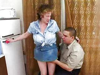 Amateur Big Tits Kitchen Mom Old And Young Russian Skirt