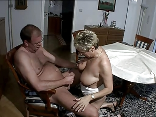 Big Tits Natural Older  Wife