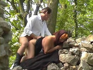 Clothed Doggystyle Hardcore Outdoor