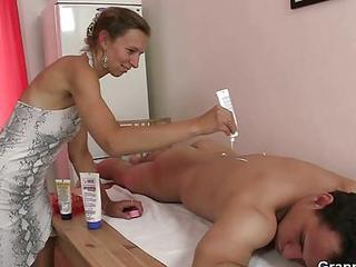 Massage Mature Old And Young