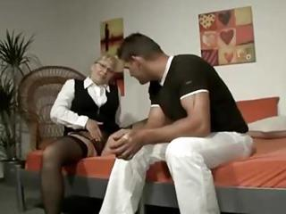 European German Glasses Masturbating Mature Mom Old And Young Stockings Teacher