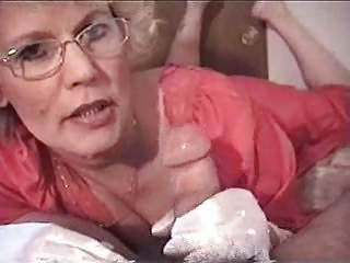 Amateur Glasses Handjob Teacher