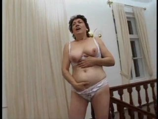 Chubby Lingerie Masturbating Natural  Stripper