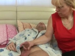 Handjob Mom Old And Young Sleeping Small Cock
