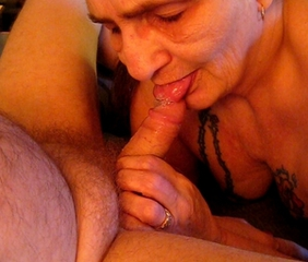 Amateur Blowjob Cumshot Homemade Older Small Cock Swallow Wife