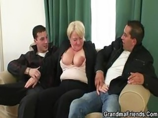 Big Tits Drunk Family Mom Old And Young Threesome