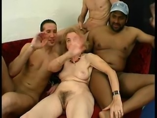 Gangbang Hairy Old And Young