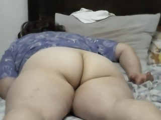 Ass Chubby Mature Sleeping