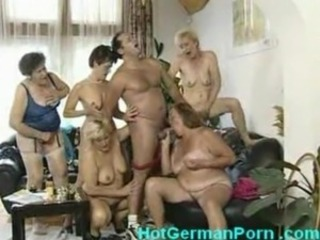 Blowjob European German Groupsex Orgy