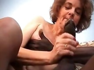 Big Cock Blowjob European French Interracial