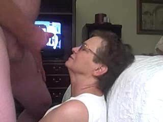 Amateur Cumshot Facial Glasses Homemade Older Wife