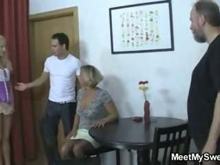 Family Groupsex Old And Young
