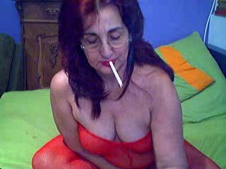 Fetish Glasses Lingerie Smoking Solo Webcam
