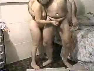 Amateur Handjob Homemade Older Wife