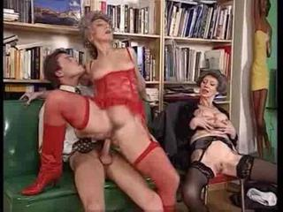 Groupsex Hardcore Lingerie Old And Young Riding Stockings
