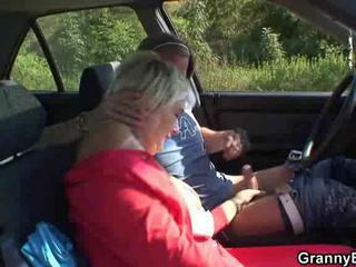 Car Handjob Mom Old And Young