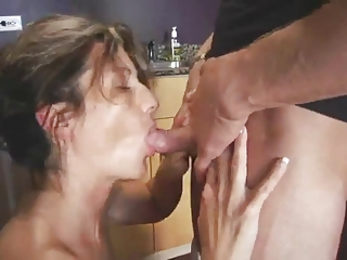 Blowjob Kitchen Mature Small Cock